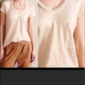 Bordeaux Metallic Gold Blouse Size S